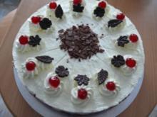 Kirsch ~ Sahne ~ Torte - Rezept