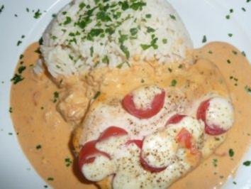 Putenschnitzel Tomate / Mozzarella.... - Rezept