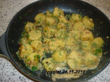 Sahnekartoffeln - Rezept