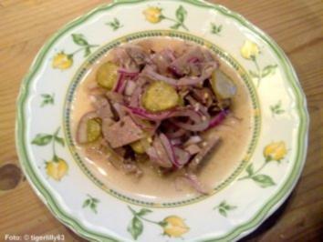Rindfleisch-Salat - Rezept