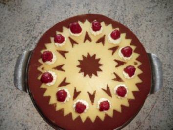 &#9829 Marzipan - Kirsch -Torte &#9829 - Rezept