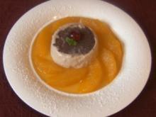 Zimt - Panna - Cotta an marinierten Orangenfilets - Rezept