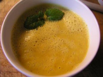 Möhren - Ingwer - Suppe - Rezept