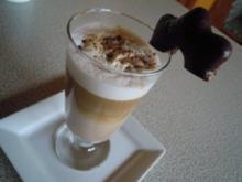 heiße Getränke: Lebkuchen - Cappuccino - Rezept