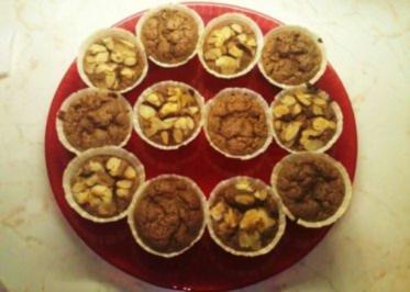 Schoko-Rum-Orangen Muffins - Rezept