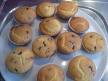 Muffins mit Schokotröpfchen - Rezept