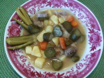 Süss-Saure -Kartoffelstücke - Rezept