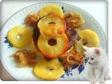 Rinderleber mit gebratenen Apfelscheiben - Rezept