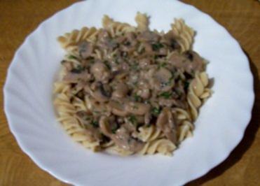 Rezept: Kochen: Nudeln mit Pilzragout