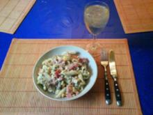 Salat: Sommerlicher Nudelsalat - Rezept