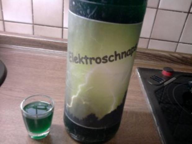 Elektroschnaps - Rezept