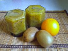 Kiwi-Orangenmarmelade - Rezept