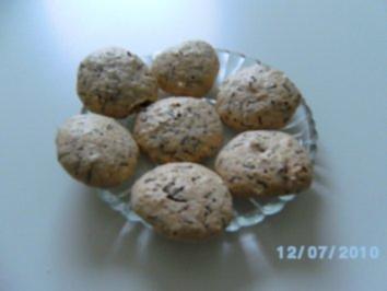Rezept: Witwenküsschen    -Weihnachtsbäckerei -