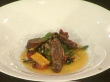 Hausgemachte Salsiccia mit Salat vom toskanischen Gemüse - Rezept