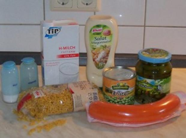 Nudelsalat einfach - Rezept - Bild Nr. 2