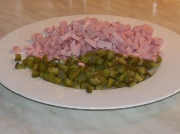 Nudelsalat einfach - Rezept - Bild Nr. 3