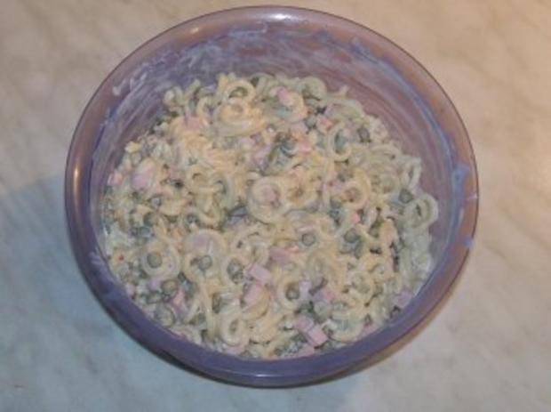 Nudelsalat einfach - Rezept - Bild Nr. 8