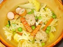 Bunte Suppe Allerlei für Kids (Kindersuppe) - Rezept