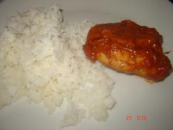 Putenschnitzel in würziger Tomaten-Mozzarella Soße - Rezept