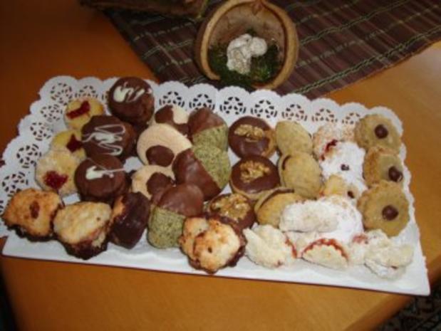 Weihnachtsgebäck: Kaffeescheiben - Rezept
