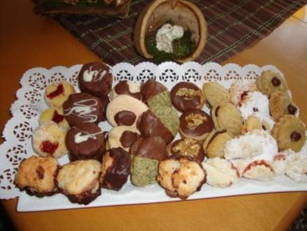 Weihnachtsbäckerei:  EINS-ZWEI-DREI - Rezept