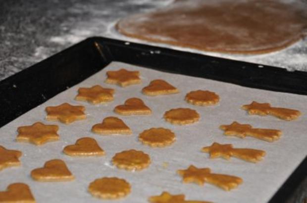 Weihnachtsplätzchen - Lebkuchen - Rezept - Bild Nr. 2