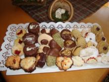 Weihnachtsbäckerei: MOSTKEKSE - Rezept