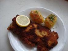Putenschnitzel mit Käse-Kräuter-Füllung - Rezept
