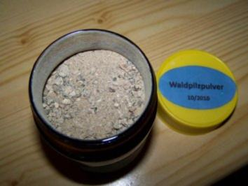 getrocknete Waldpilze - Rezept