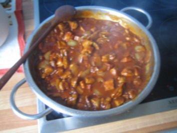 Fleisch – Manfred's herzhafte Schaschlikpfanne - Rezept