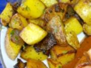 Bratkartoffelwürfel aus rohen Kartoffeln - Rezept