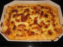 Lasagne Vegetarisch Bolognese Art - Rezept