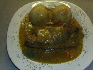 Fleischgerichte: Rouladen mit Schafskäse und Pesto - Rezept