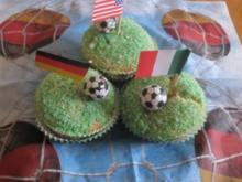 Fußball Muffins  Kindergeburtstag - Rezept