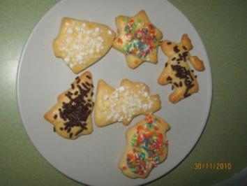 Frischkäse-Kekse - Rezept