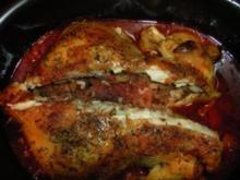 Orientalisch gefülltes Hühnchen - Rezept
