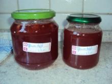 Apfel-Pflaumen Konfitüre - Rezept