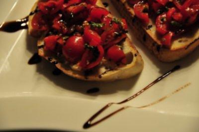 Bruschetta ai pomodori - Rezept