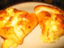 Snack: Gouda - Zwiebel -Tascherl - Rezept