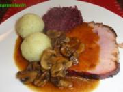Fleisch:   SPANFERKEL-KRUSTENBRATEN - Rezept