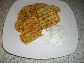 Kartoffel-Lauch-Waffeln nach Weight Watchers - Rezept