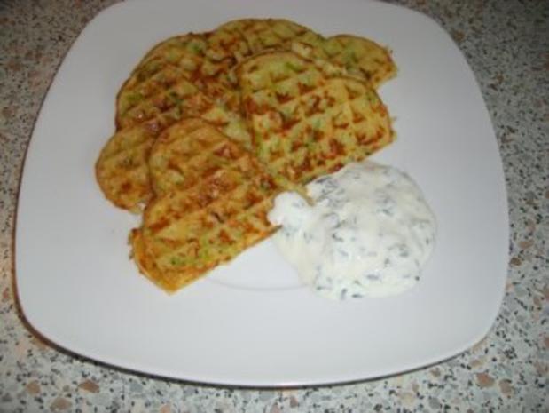 Kartoffel-Lauch-Waffeln nach Weight Watchers - Rezept
