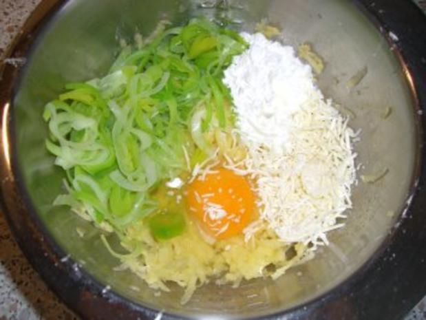 Kartoffel-Lauch-Waffeln nach Weight Watchers - Rezept - Bild Nr. 2