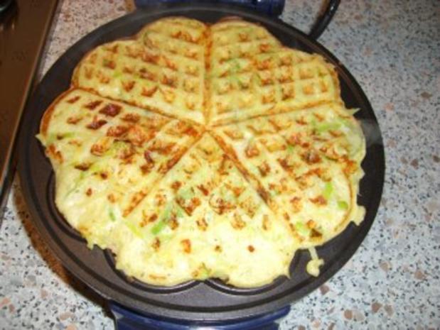 Kartoffel-Lauch-Waffeln nach Weight Watchers - Rezept - Bild Nr. 3