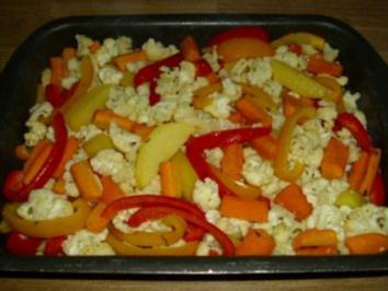 Gemüsepfanne - Rezept