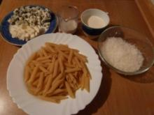 Penne Rigate mit Gorgonzolasauce - Rezept