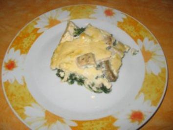 Fisch-Spinat-Auflauf - Rezept