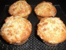 Nussmuffins mit Kokoshaube - Rezept - Bild Nr. 2