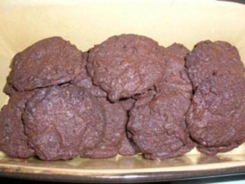 Double-Choco-Cookies (Rosis Backrezept das 2te) - Rezept
