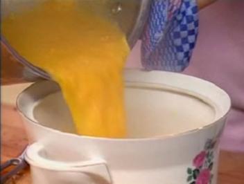 Linsen-Orangen-Suppe - Rezept